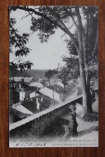 Carte postale ancienne BOURBONNE-LES-BAINS - Un Coin du Parc du Château
