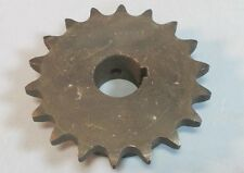 """SST 50BS18H-1NC, 18 Tooth, 1"""" Bore to Size Single Row Sprocket NWOB"""