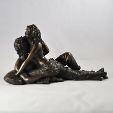 As One Naked Figures Lovers Embrace Sculpture Bronze Erotic Statue L28cm REDUCED