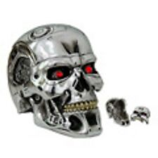 T-800 Terminator 2 head box silver skull  Movie Collectable Official merchandise
