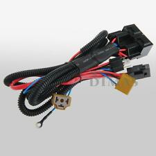 H4/9003 12V Ceramic Fused Socket Relay Wiring Harness Headlight Bulb Booster 35W