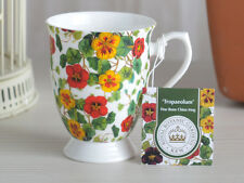 ROYAL BOTANIC GARDEN Kew tropeaolum Bone China tazza pagano