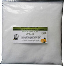 Citric Acid 2kg Descaler Sterilisers Bath Bombs