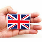 UK Flag Embroidered Iron/Sew On Patch United Kingdom Badge Transfer 7x4.5cm HIAU