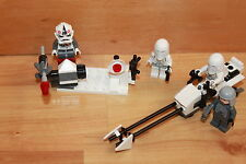 Lego Star Wars - Set 8084 - Snow Trooper Battle Pack - komplett mit Figuren