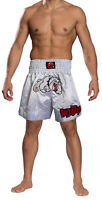 Muay Thai Fight Shorts Bull Dog MMA Grappling Kick Boxing Trunks Martial Arts