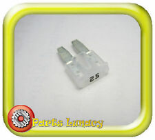 FUSE Micro2 Style 9mm 25 Amp White or Clear FOR Late Model Jeep Grand Cherokee