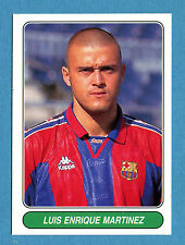EUROPEAN FOOTBALL STARS - Figurina-Sticker n. 72 - LUIS ENRIQUE - BARCELLONA-New
