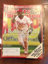 October 8 2007 Jimmy Rollins Philadelphia Phillies Baseball Sports Illustrated