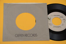 "PETER GABRIEL GENESIS 7"" 45(NO LP ) SHOCK THE MONKEY PROMO 1982 EX MONO STEREO"