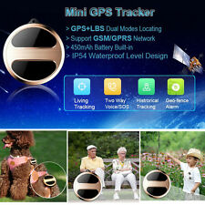 For Kids Elderly Pets Vehicle Mini Micro GPS Trackers GSM GPRS Locator SOS Alarm