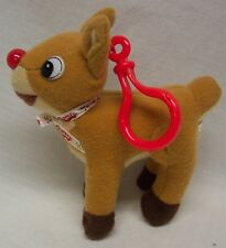 """Island Of The Misfit Toys RUDOLPH THE RED NOSED REINDEER 5"""" STUFFED ANIMAL CLIP"""