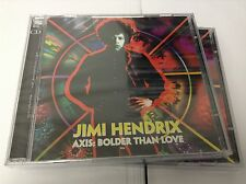 Jimi Hendrix - Axis Bolder Than Love, 2005 2 CD NEW & SEALED JEWEL CASE VERSION