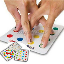 Finger Twister Board Game Mini Version Table Party Game Valentine Xmas Toy Gift