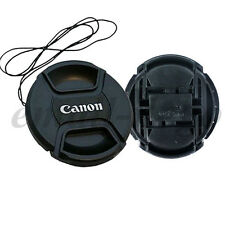3x 67mm Center Pinch Snap-on Lens Cap Cover For Canon F4 EF-S 18-135mm 70-200mm