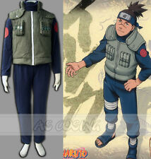 HOT Anime Naruto Konoha Jonin このは じょうにん Uniform Cosplay Costume  Halloween Suit