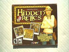 NEW!!!  HIDDEN RELICS TREASURE HUNT PC GAME VIDEO GAME  CD