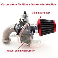 Mikuni Carburetor Air Filter intake For Pit Bike 110cc 125cc CRF SSR Sunl Taotao