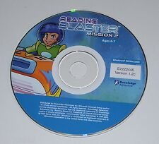 Reading Blaster Mission 2 Planet of Lost Things PC CD-ROM Adventure Game ONLY