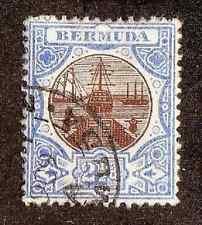 Bermuda--#37 Used--Ships/Dry Dock--1906