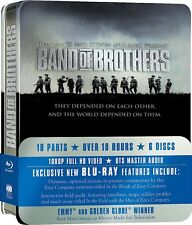 Band of Brothers Complete 2001 TV Mini Series 10 Episodes Box / BluRay Set NEW!