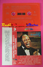 MC LOUIS ARMSTRONG Greatest hits italy RICORDI INTERNATIONAL no cd lp dvd vhs