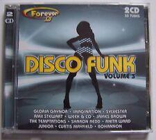 C40- FOREVER - DISCO FUNK - VOLUME 3 - 2 CD - 30 tubes