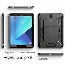 POETIC Revolution [Heavy Duty] Rugged Case For Galaxy Tab S3 9.7 Black