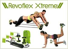 New Fitness Revoflex Xtreme Extreme Abdominal Core Ab Trainer Set & Workout Kit