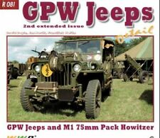 Ford GPW Jeeps in Detail No 81 by Frantisek Koran. 2nd updated issue WW2 army