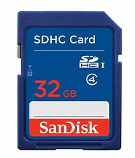 Genuine SanDisk 32gb SD Card SDHC Memory Card Class 4 32 GB for Digital Cameras
