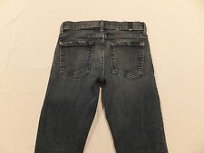 7 For All Mankind Gwenevere 24 x 27 1/2 Skinny Zipper Cuffs USA Women's Jeans