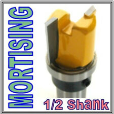 "1 pc 1/2"" SH Mortising Hinge w/Top Bearing Router Bit  sct-888"