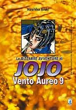 LE BIZZARRE AVVENTURE DI JOJO - VENTO AUREO 9 DI 10 - STAR COMICS NUOVO