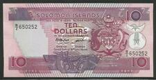 Solomon Islands P-15 10 Dollars 1986 Unc