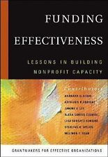 Funding Effectiveness: Lessons in Building Nonprofit Capacity-ExLibrary
