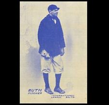 1914 First Ever Babe Ruth Baseball Card, PHOTO Replica, Baltimore Orioles Rookie