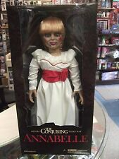 """2016 Mezco Horror The Conjuring Annabelle Doll 18"""" Inch Prop Replica Figure NEW"""