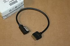 VW iPod media in cable for Multimedia interface box 5N0035554B New Genuine VW