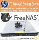 HP Proliant FreeNAS Storage Server 8TB XEON QC 2x L5630 16 GB iSCSI CIFS SAN NAS