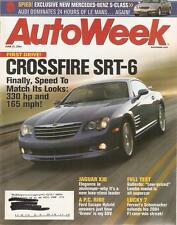 June 21, 2004 Autoweek 1967 Lincoln Continental Convertible Sedan Crossfire SRT6