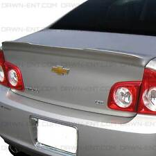 For: CHEVY MALIBU; UNPAINTED Spoiler Wing No Drill 3M Tape Install 2008-2012