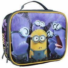 Despicable Me Minions Lunch Bag Insulated Feeling Purple NEW Insulated