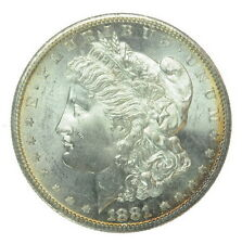 1881 S US Mint Morgan 90% Silver $1 One Dollar Coin 200109