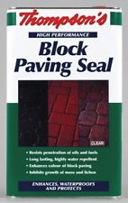 Thompsons Clear Finish Sealer Patio and Block Paving Seal 5 Litre Oil Resistant