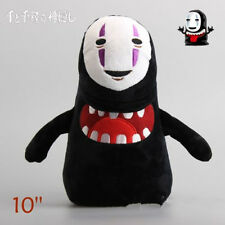 New Spirited Away Faceless Black No Face Gost with Mouth Plush Toy Doll 10''