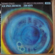 ZUBIN MEHTA/RICHARD STRAUSS ALSO SPRACH ZARATHUSTRA UK PRESS LP