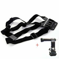 ARNES DE PECHO SOPORTE CORREAS AJUSTABLE GOPRO HERO 2 3 3+ 4 SESSION SJ6000