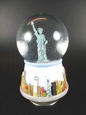 Schneekugel Spieluhr New York Freiheitsstatue ,Snowglobe,12 cm,Souvenir USA