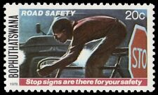 """BOPHUTHATSWANA 28 - Road Safety """"Observe Stop Signs"""" (pa13779)"""
